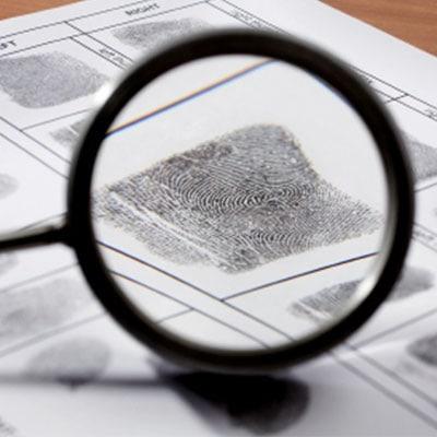 Forensic Procedures - fingerprints